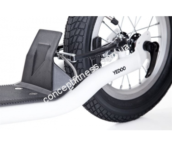 Самокат Yedoo City NEW white-black 608181