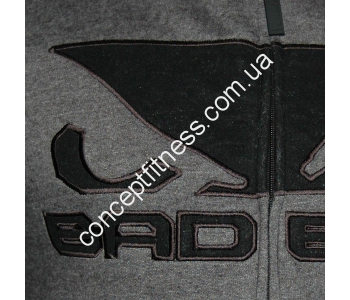 Спортивная кофта Bad Boy Fleece Dark Grey