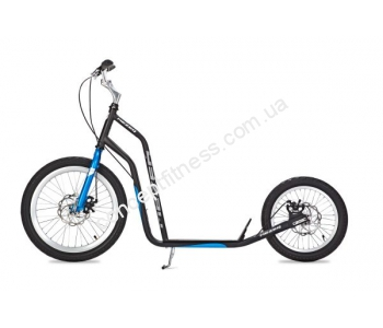 Самокат Yedoo Mezeq Disc black-blue 06-Y03