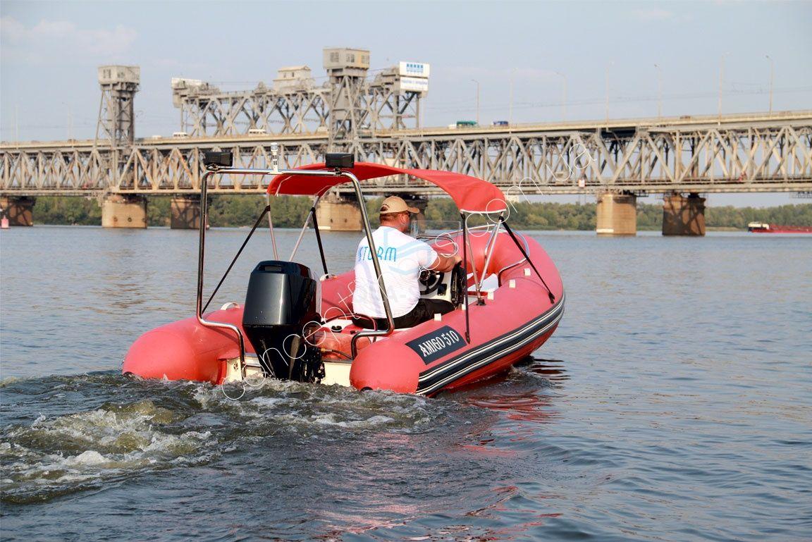 лодка аква шторм видео