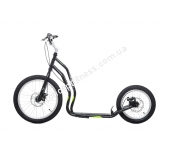 Самокат Yedoo Mezeq Disc New black green 608297