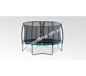 Батут Berg Elite Green 380 + Safety Net Deluxe