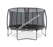 Батут Berg Elite Grey 380 + Safety Net Deluxe