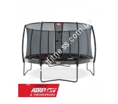 Батут Berg Elite Grey 430 Tattoo+Safety Net Deluxe