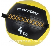 Набивной мяч Tunturi Wall Ball Yellow 14TUSCF009