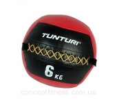Набивной мяч Tunturi Wall Ball Red 14TUSCF010