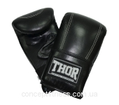 Перчатки Thor 605 Leather BLK L