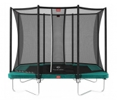 Батут BERG Ultim Favorit Regular 280 Green Safety Net Comfort 32.25.62.70