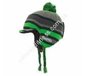 Шлем лыжный Alpina Beanie grey-green A9044-28