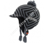 Шлем лыжный Alpina Beanie grey-black A9044-32