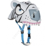 Детский шлем Crazy Safety White Tiger 110297-20