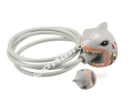 Замок Crazy Safety White Shark 240160-20